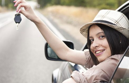 rent a car for driving test